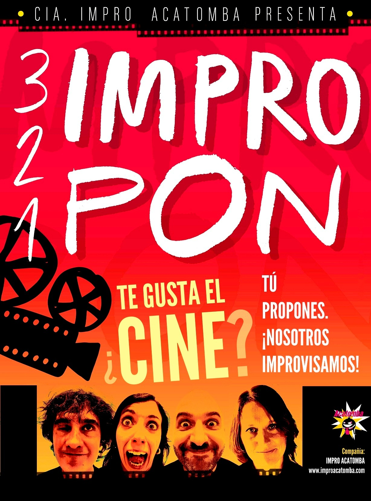 "IMPROPON ""TÚ PROPOSES, NOSALTRES IMPROVISEM"""